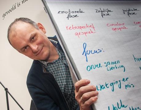 Rob Kuijpers traint teams en professionals in conflictbeheersing
